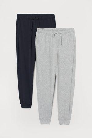 H&M Pantaloni pigiama jersey, 2 pz