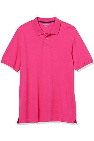 Amazon Polo in Cotone piqué di Taglio Regolare Shirts, Rosalina, US L