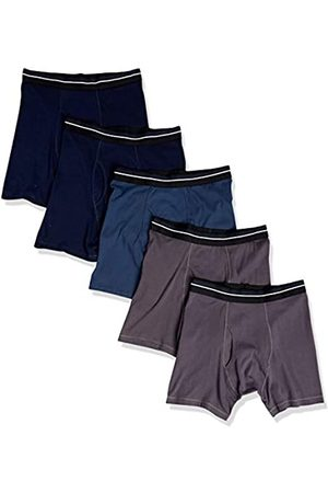 Amazon 5-Pack Tag-Free Boxer Briefs, , X-Small