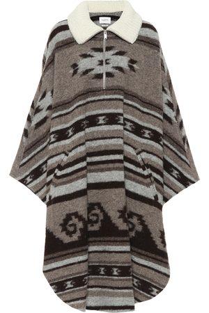 Isabel Marant Poncho Gabo in misto lana
