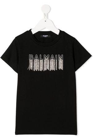 Balmain T-shirt con stampa - Di colore