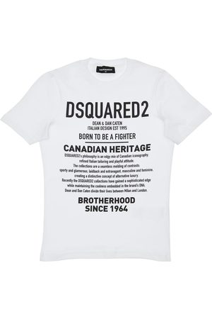 "Dsquared2 T-shirt ""heritage"" In Jersey Di Cotone"