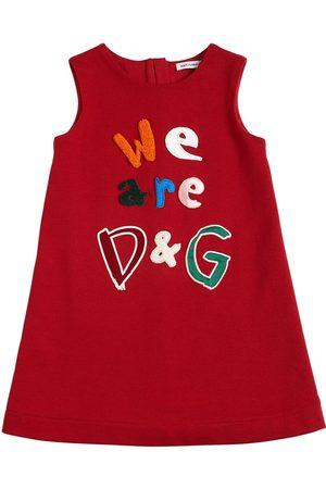 Dolce & Gabbana Bambina Vestiti estivi - Vestito In Jersey Di Cotone