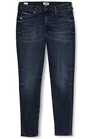 Tommy Hilfiger Donna Sylvia High Rise Sup Sky Ank Gdk Straight Jeans, Blu , W29/L34
