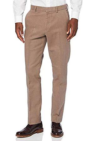 FIND Marchio Amazon - Pantaloni Eleganti Slim in Cotone Uomo, ., 40W / 32L, Label: 40W / 32L