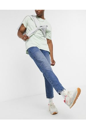 ASOS Jeans classici rigidi medio slavato vintage