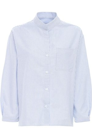 THE SLEEP SHIRT Camicia Da Notte In Flanella Di Cotone
