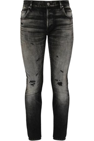 "Balmain Jeans Skinny ""selvedge"" In Denim Di Cotone"