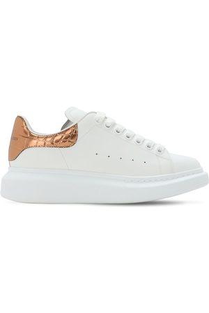Alexander McQueen Sneakers In Pelle 45mm