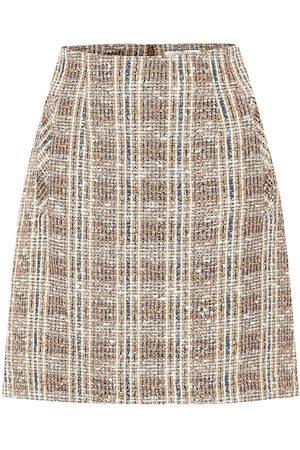 VERONICA BEARD Minigonna Roman in tweed