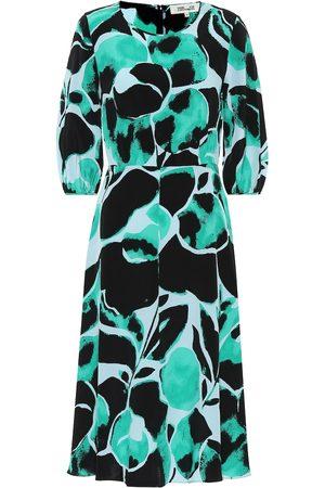 Diane von Furstenberg Donna Vestiti da sera - Abito Bliss a stampa in seta