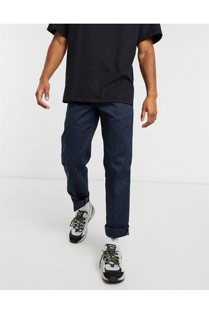 Dickies 873 - Pantaloni slim dritti eleganti navy scuro