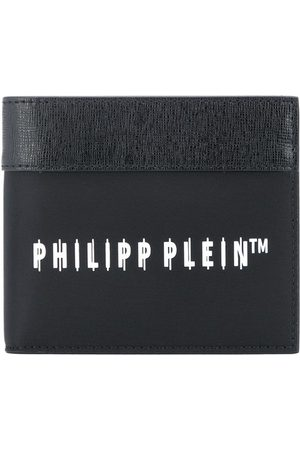 Philipp Plein Portafoglio bi-fold con stampa