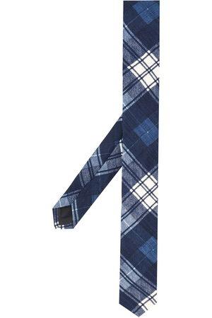 Gianfranco Ferré Cravatta con motivo tartan anni '90 - Di colore
