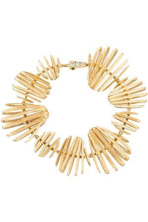 ANNOUSHKA Bracciale Garden Party in e bianco 18kt con diamanti - 18ct Yellow Gold