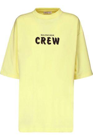 Balenciaga T-shirt Oversize In Jersey Di Cotone