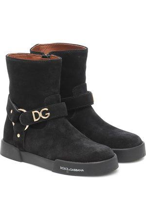 Dolce & Gabbana Stivaletti in suede