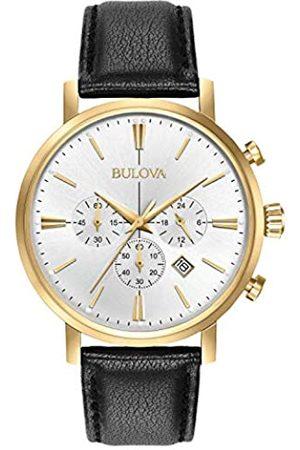 BULOVA Orologio Cronografo al Quarzo Uomo con Cinturino in Pelle 97B155