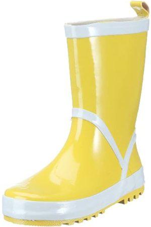 Playshoes Stivaletti Pioggia-Basic, Stivali di Gomma Naturale Unisex – Bambini, , 32/33 EU