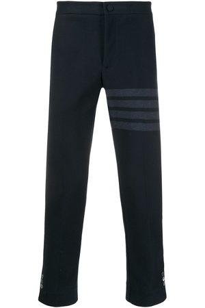 Thom Browne Uomo Eleganti - Pantaloni slim con dettaglio a 4 righe