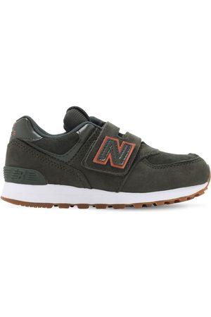 "New Balance Sneakers ""574"" In Pelle E Techno"