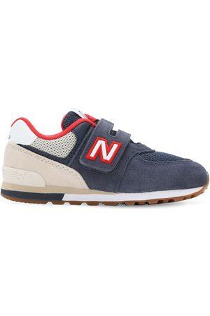 """New Balance Sneakers """"574"""" In Camoscio E Rete"""