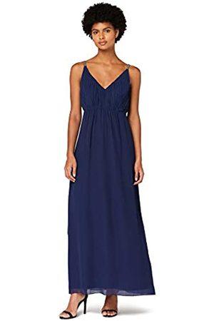 TRUTH & FABLE Donna Vestiti lunghi - Marchio Amazon - Maxi Dress Boho in Chiffon Donna, , 48, Label: XL