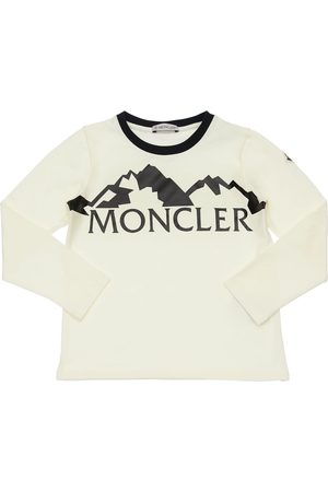 Moncler T-shirt In Jersey Di Cotone