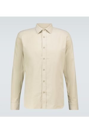 Orlebar Brown Camicia Giles in velluto a coste