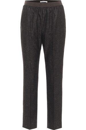 Agnona Pantaloni in mohair e lana