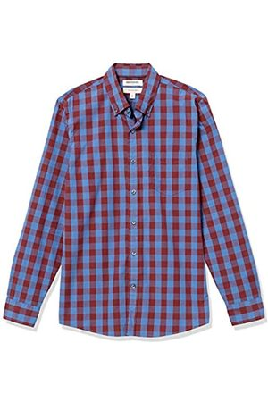 Goodthreads Slim-Fit Long-Sleeve Large-Scale Check Shirt Camicia