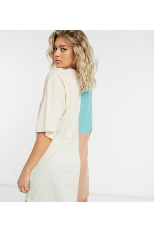 Missguided Vestito T-shirt colour block oversize