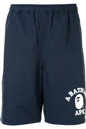 A BATHING APE® Uomo Shorts - Shorts sportivi con stampa