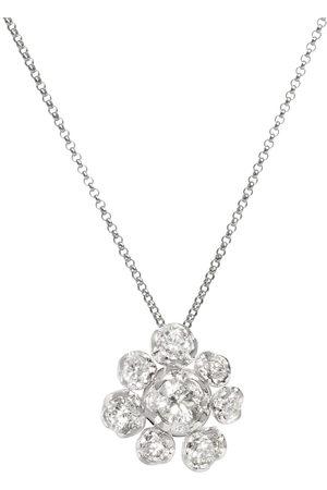 ANNOUSHKA Collana in 18kt con diamanti Marguerite - 18ct White Gold