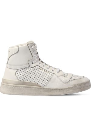 Saint Laurent Sneakers In Pelle Perforata