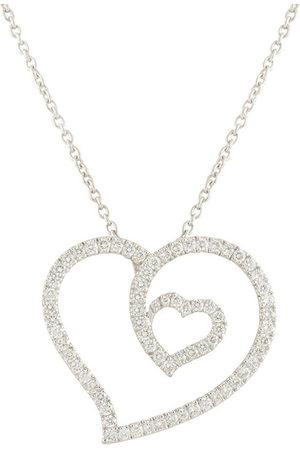 Roberto Coin Collana in oro bianco 18kt con diamanti