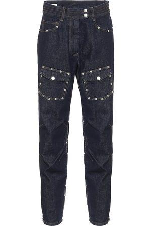 DRIES VAN NOTEN Jeans slim con borchie
