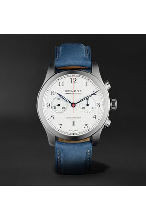 Bremont Uomo Orologi - ALT1-C Rose Automatic 43mm Stainless Steel and Nubuck Watch