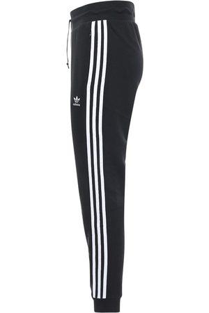 adidas Pantaloni Slim Fit In Felpa Di Misto Cotone