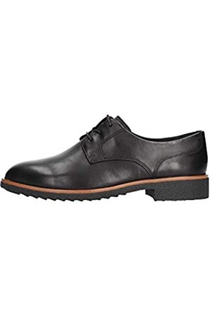 Clarks Griffin Lane, Scarpe Stringate Derby Donna, Nero , 37.5 EU