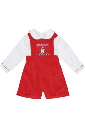 Rachel Riley Baby - Tutina in cotone con ricami