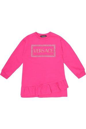 VERSACE Bambina Vestiti estivi - Abito in cotone con stampa