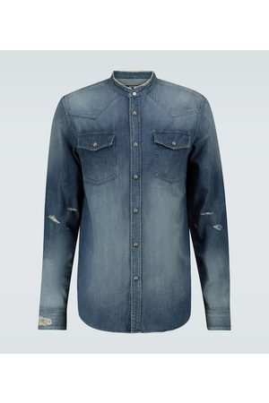 Balmain Camicia in denim
