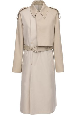 Bottega Veneta Trench In Cotone Impermeabile