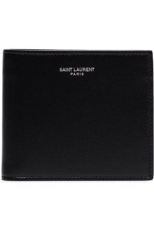 Saint Laurent Portafoglio con logo goffrato