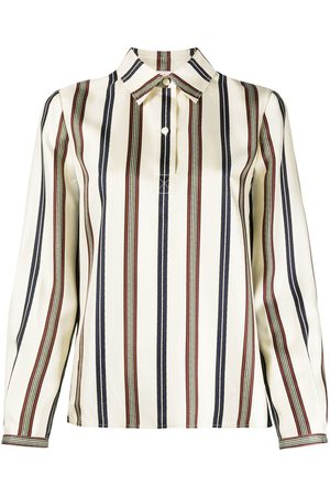 Tory Burch Camicia a righe - Toni neutri