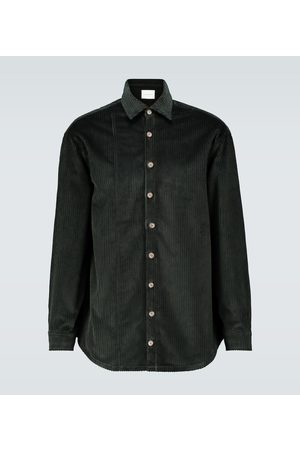 King and Tuckfield Camicia in velluto a coste