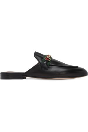 "Gucci Sabot ""princetown"" In Pelle 10mm"