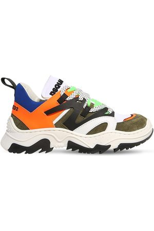 Dsquared2 Sneakers In Neoprene E Pelle