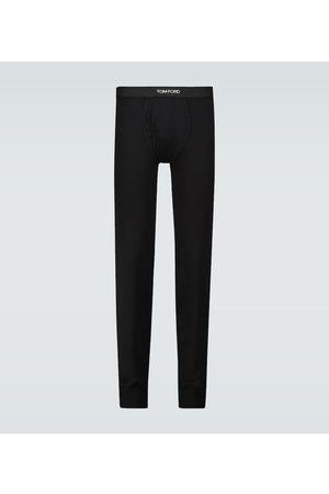 Tom Ford Pantaloni Johns in cotone